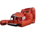 Tiger inflatable obstacle games children tunnel