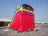 Great wall Green inflatable slide