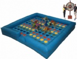 inflatable playground Mega Twister game