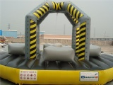 The wrecking ball inflatable interested bouncy games
