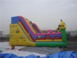 Lovely Mickey inflatable jumping castle with slide