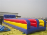 Great fun inflatable bungee run bungee running