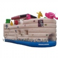 Hot sales beautiful animals inflatable bounce house