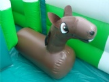 Hot creative inflatable wii horse riding competition