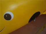 Lovely Dolphin shape fly fish boat Banana Boat in Yellow