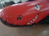 Lovely Shake shaped Banana Boat in red
