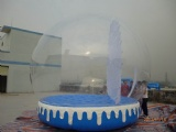 life size snow globe clear inflatable dome