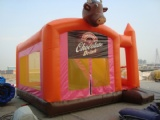 Cool Ngau Tau inflatable bouncy castles with slide