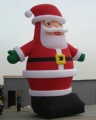 Outdoor giant santa claus inflatable Christmas