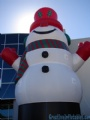giant inflatable blow up snowman outdoor decoration