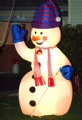 blow up snowman inflatable xmas outdoor decoration