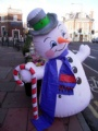 snowman huge inflatables Christmas decoration