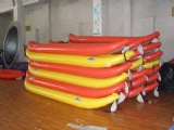 Easy carry Inflatable Venice boat canoe Explore's kayaks