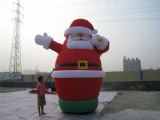 Inflatable bouncy The Santa reindeer sleigh GOOD ideas for Christmas