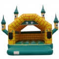 Yellow house vecchio castello inflatable castles