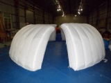 Inflatable Exhibition Clamshell building