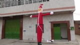 New high Christmas sky dancer wind dancer specialized inflatable man