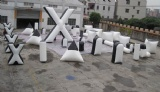 10 man Inflatable Paintball bunkers for paintball Game