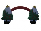 High&large Christmas Tree inflatable decoration tree