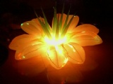 LED inflatable flower decoration for party