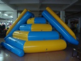 Inflatable steep sports climb water glider game