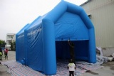 Portable inflatable garage