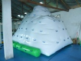 inflatable iceberg climbing game inflatable water park