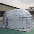 Inflatable Transparent Ellipse Tent