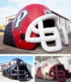 Inflatable Combo Helmet Sports Tunnel Tent