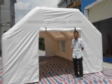 used as medical tent inflatable during disaster
