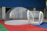 inflatable crystal  bubble dome