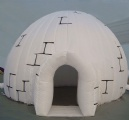 inflatable igloo dome for outdoor event