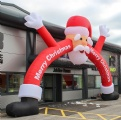 inflatable santa arch