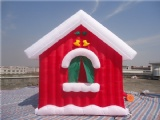 inflatable christmas house for holidays decoation