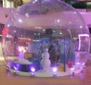 inflatable show ball for exhibition