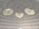 Airtight Inflatable White Dome