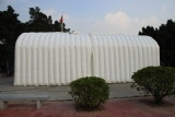Party tent inflatable moveable outdoor event hall