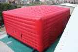 Inflatable Red Cube Party Tent