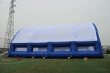 Huge inflatable event tent