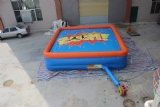Free fall stunt jumping air bag for inflatable sport game