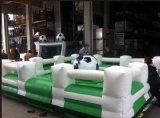 Mechanical Football Bull Rodeo Inflatable Game