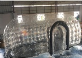 External size:6.7m*3.35m*2.8m                                                                                                                                     Material:PVC tarpaulin and clear PVC                                       