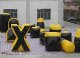 5 man inflatable paintball inflatable bunker field