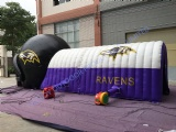 Inflatable Football Helmet Tunnel, Large Inflatable Football Helmet for Sport Game