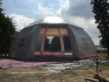 17m diameter spider dome tent