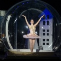 3m diameter inflatable dance snow globe