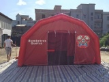 Mobile medical tent
