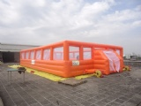 Orange Inflatable Soccer Football Sports Pitches